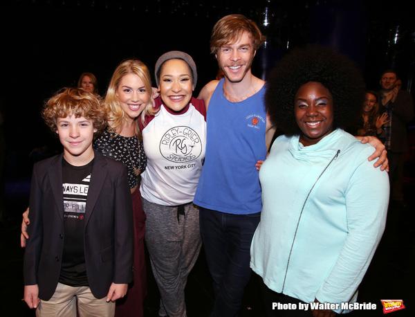 Broadway debuts: Baylee Littrell, Maggie McDowell, Olivia Phillip, Travis Kent and Lacretta Nicole