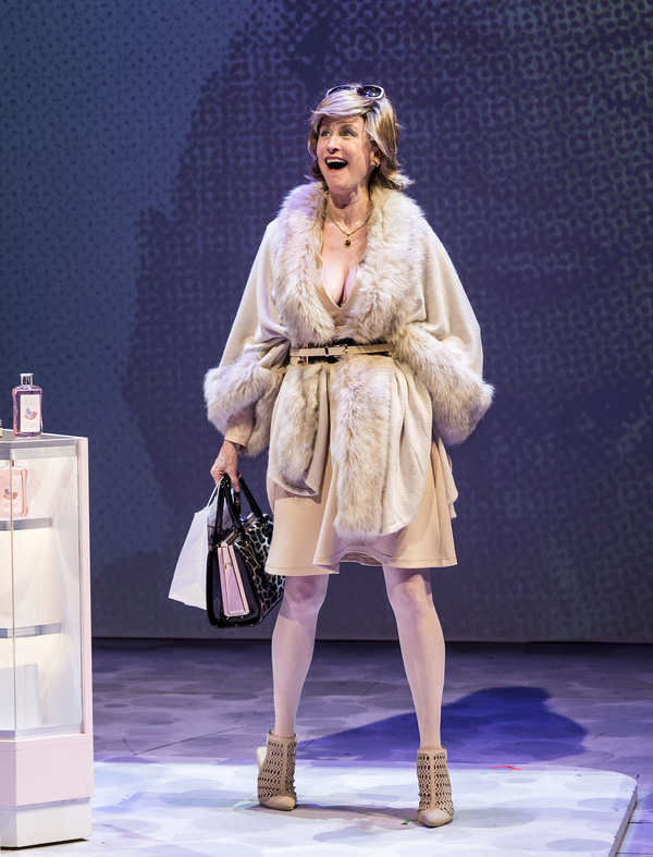"Lisa Banes in ""Women Laughing Alone With Salad."" Written by Sheila Callaghan and directed by Neel Keller, ""Women Laughing Alone With Salad"" makes its West Coast premiere from March 6 through April 3, 2016, at Center Theatre Group''s Kirk Douglas T"