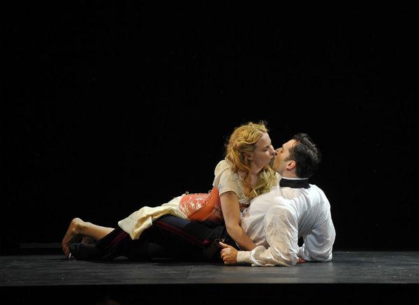 Erica Spyres and Ryan Silverman