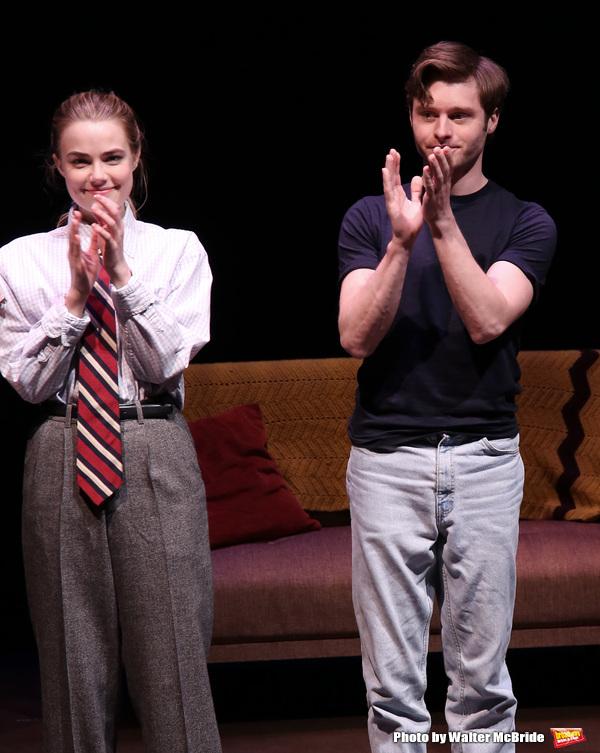 Rebecca Rittenhouse and Bobby Steggert