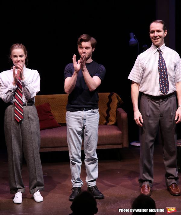 Rebecca Rittenhouse, Bobby Steggert and Paul Niebanck