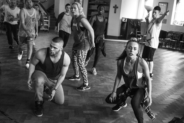 Photo Flash: Company Rocks Rehearsal for the UK Tour of AMERICAN IDIOT