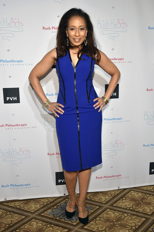 Actress and Host Tamara Tunie attends Russell Simmons'' Rush Philanthropic Arts Foundation''s Annual Rush HeARTS Education Luncheon at The Plaza Hotel on March 11, 2016 in New York City.