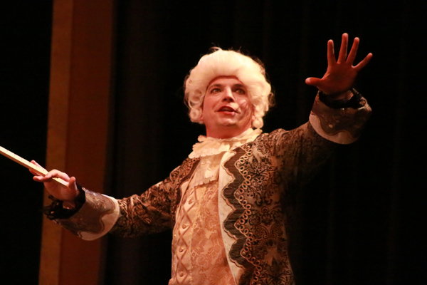Luke Walker as Mozart Photo