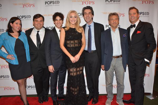 Kristen Anderson-Lopez, Robert Lopez, Darren Criss, Betsy Wolfe, Jason Robert Brown, Alain Boublil and Steven Reineke