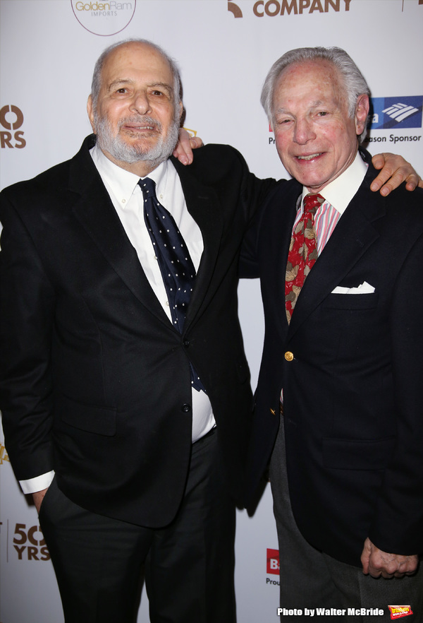 Alfred Uhry and Robert Waldman  Photo