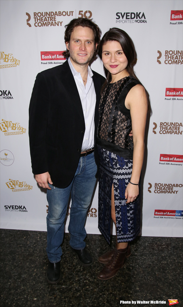 Steven Pasquale and Phillipa Soo