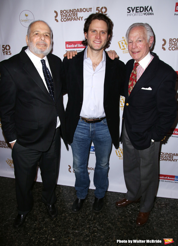 Alfred Uhry, Steven Pasquale and Robert Waldman  Photo