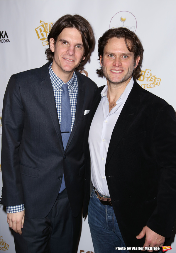 Alex Timbers and Steven Pasquale