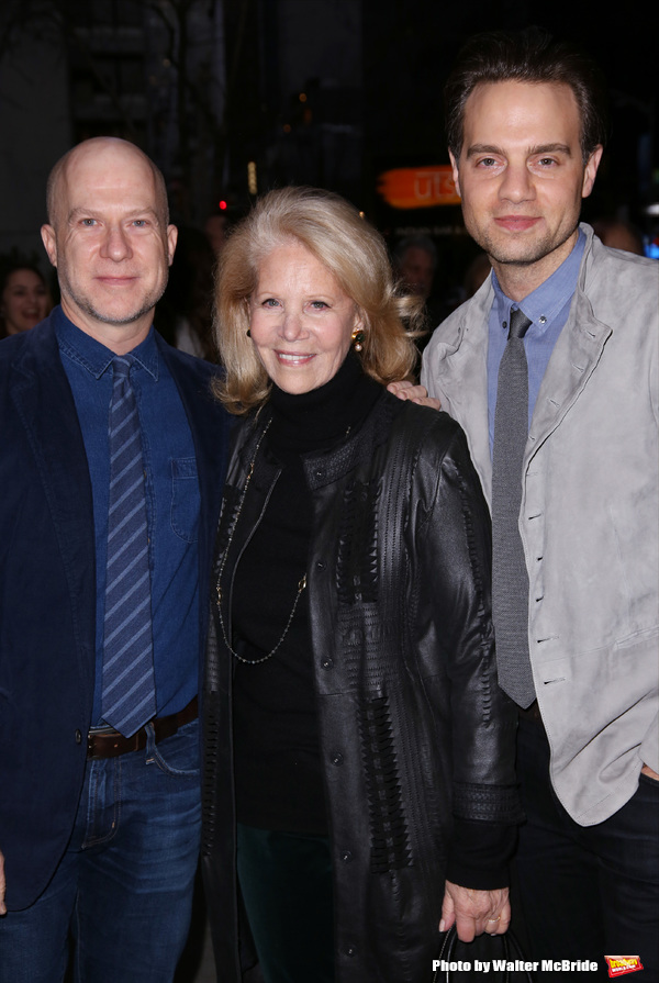 Richie Jackson, Daryl Roth and Jordan Roth
