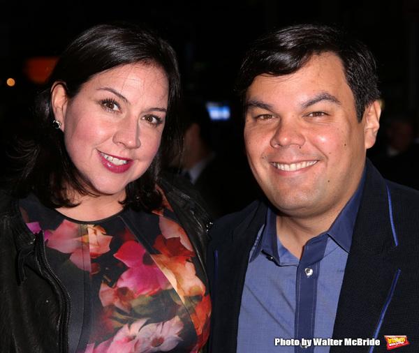 Kristen Lopez and Bobby Lopez