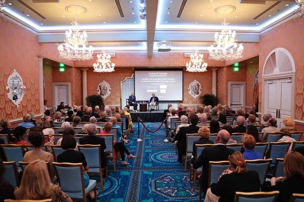 Photo Flash: CULTURE & COCKTAILS Welcomes Hearst Foundation Director Gilbert C. Maurer