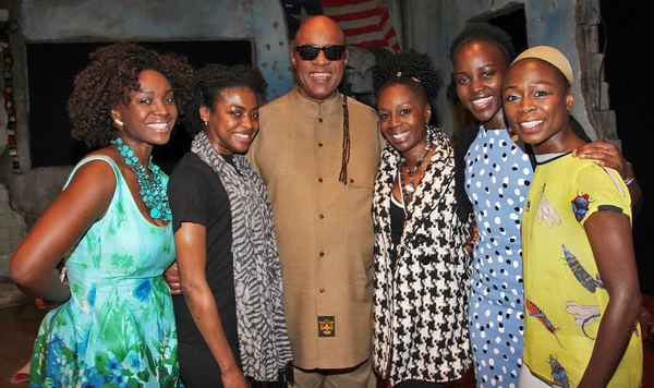 Photo Flash: Stevie Wonder Attends ECLIPSED on Broadway