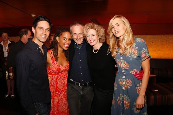 David Clayton Rogers, Dinora Z. Walcott,  Neel Keller and Lisa Banes and Nora Kirkpatrick