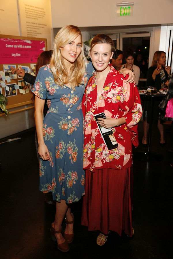 Cast member Nora Kirkpatrick and actress Maggie Grace  Photo