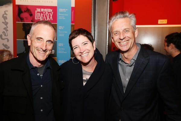 Director Neel Keller, CTG Board President Kiki Ramos Gindler and CTG Artistic Director Michael Ritchie