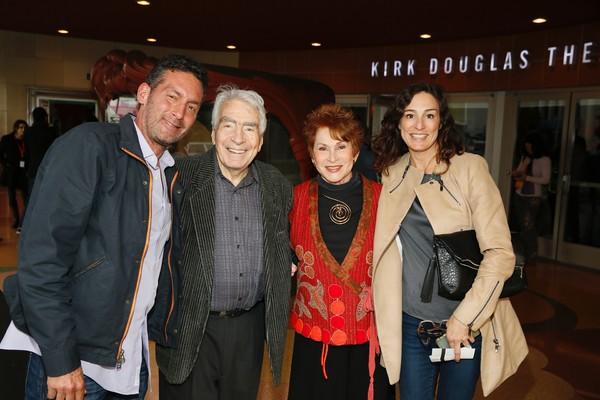 Jeffrey Janger, CTG Founding Artistic  Gordon Davidson, Judi Davidson and Rachel Davi Photo