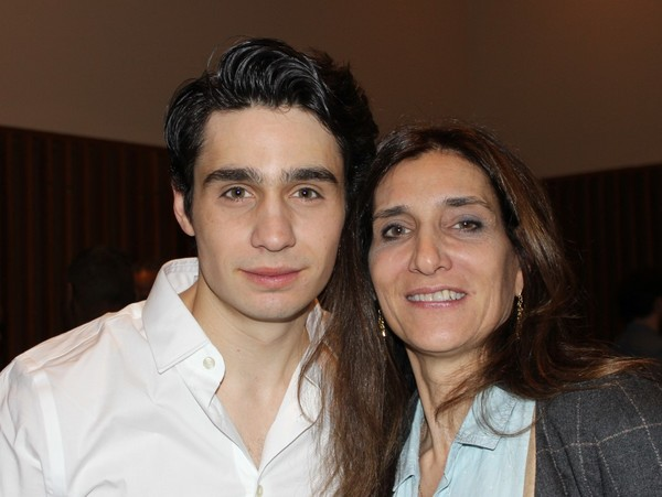 Bobby Conte Thornton with his mom.