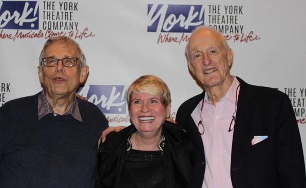 Richard Maltby, Jr., with Mary Jo Slater and David Shire.