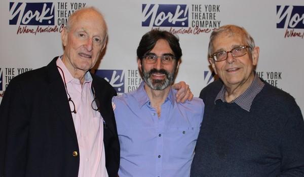 David Shire, Michael Unger (York Associate Artistic ), and Richard Maltby, Jr.