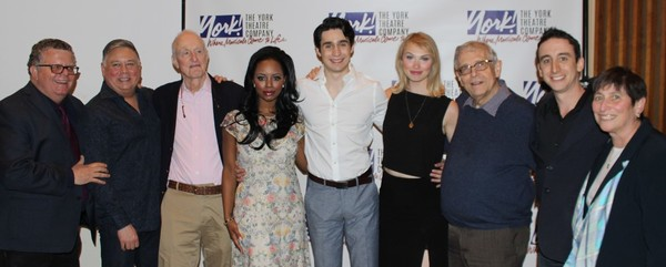 The Full Company: James Morgan, Kevin Stites, David Shire, Krystal Joy Brown, Bobby Conte Thornton, Charlotte Maltby, Richard Maltby, Jr., Danny Weller, and Joan Sorkin.
