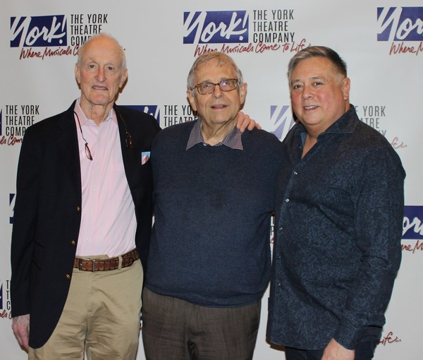David Shire (composer), Richard Maltby, Jr. (lyricist/director), and Kevin Stites (music director).