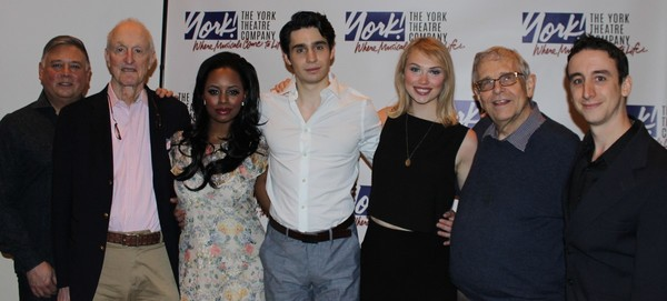 The Company (Left to Right) Kevin Stites, David Shire, Krystal Joy Brown, Bobby Conte Thornton, Charlotte Maltby, Richard Maltby, Jr., and Danny Weller (bass player).