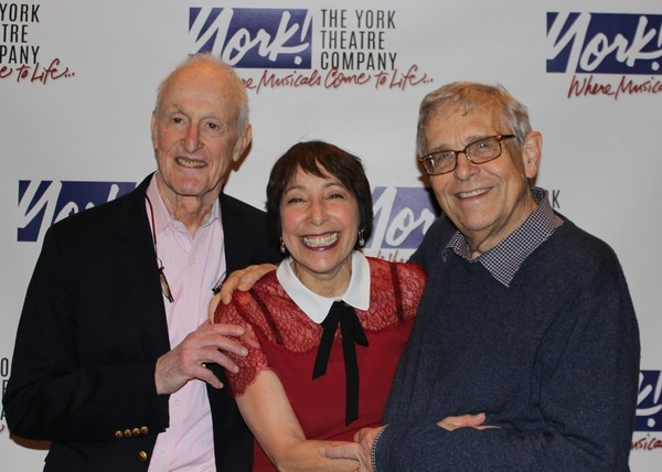 David Shire with his wife Didi Cohn, and Richard Maltby, Jr.