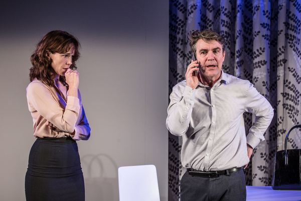 Photo Flash: First Look at Alexander Hanson and Frances O'Connor in THE TRUTH at Menier Chocolate Factory