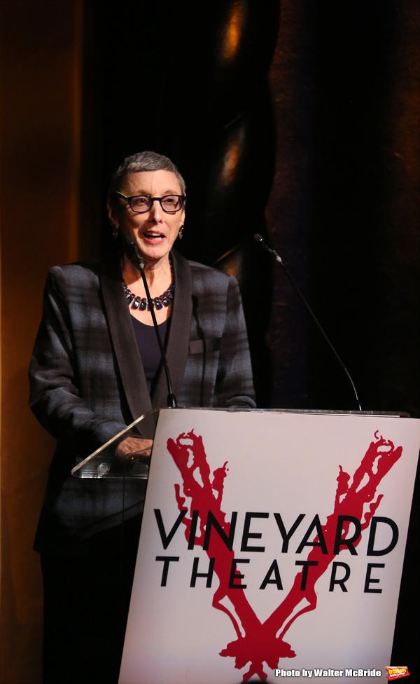 Photos: Go Inside Vineyard Theatre's 2016 Gala, Honoring Kathleen Chalfant & Sam Rudy!