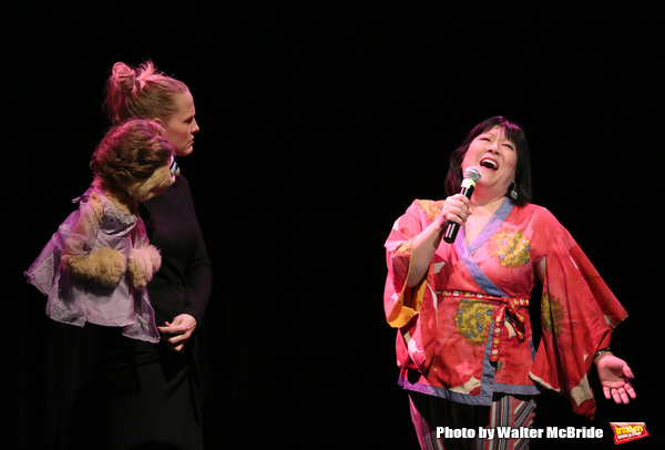 Anika Larsen and Ann Harada with Avenue Q