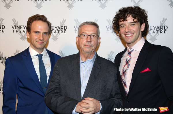Ryan Spahn, Sam Rudy and Michael Urie