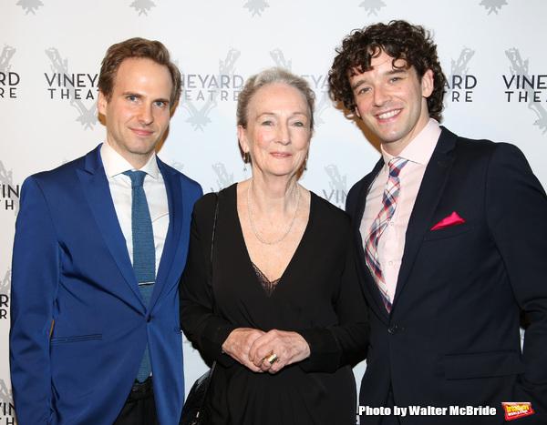 Ryan Spahn, Kathleen Chalfant and Michael Urie