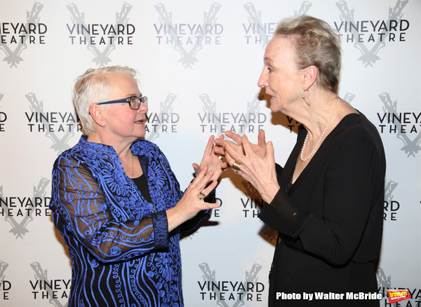 Paula Vogel and Kathleen Chalfant