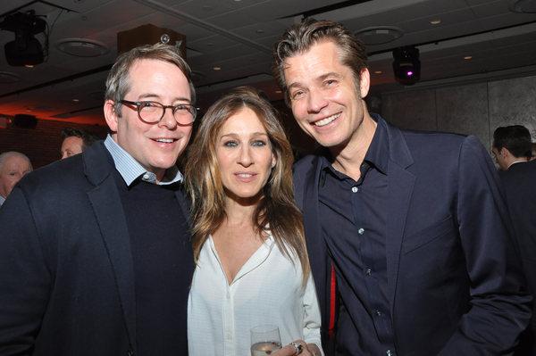 Matthew Broderick, Sarah Jessica Parker and Timothy Olyphant Photo