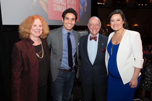Photo Flash: Adam Jacobs, Ashley Brown & More Honor Disney Theatrical & Thomas Schumacher at TDF Gala!