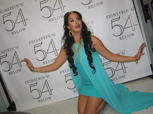 Courtney Reed as 'Jasmine'