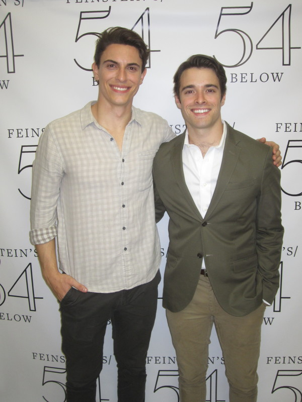 Guest Princes Derek Klena and Corey Cott
