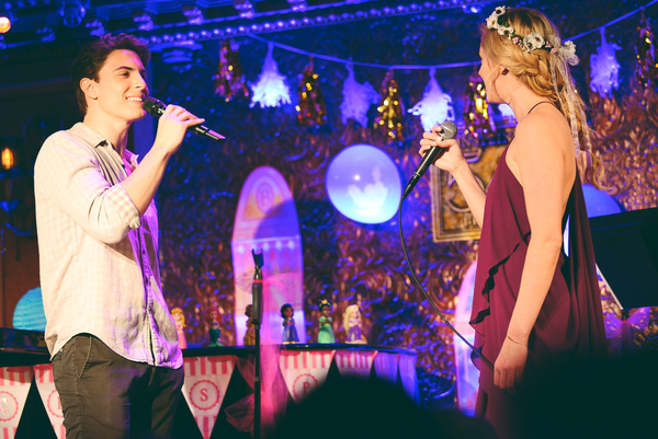 Derek Klena and Taylor Louderman sing ''I See The Light''