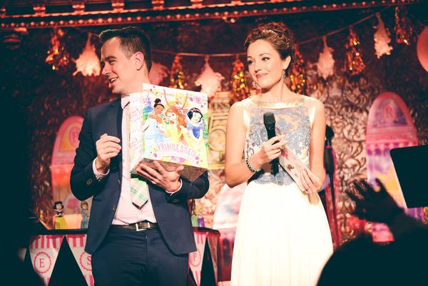 Benjamin Rauhala and Laura Osnes host Princess Trivia