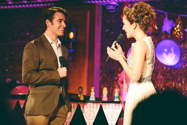Corey Cott and Laura Osnes sing ''Out of the Darkness'' from EVER AFTER