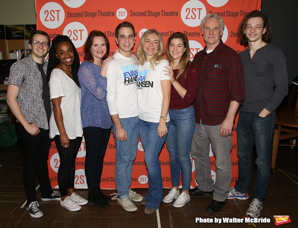 Will Roland, Kristolyn Lloyd, Jennifer Laura Thompson, Ben Platt, Rachel Bay Jones, Laura Dreyfuss, John Dossett and Mike Faist