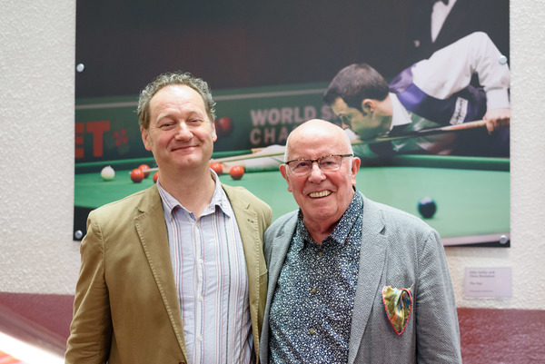 Richard Bean and Richard Wilson