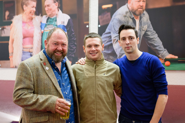 Photo Flash: THE NAP Celebrates Opening at the Crucible with Jack O'Connell, John Astley and More