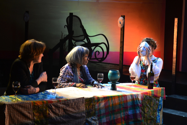 Linda Marie Larson, Vinie Burrows, Emily Louise Perkins