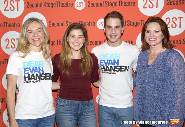 Rachel Bay Jones, Laura Dreyfuss, Ben Platt and Jennifer Laura Thompson
