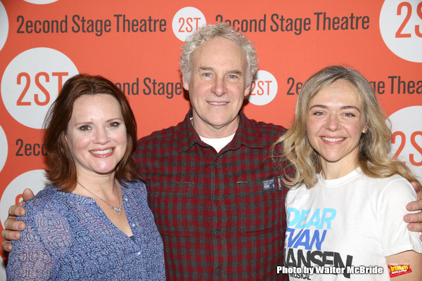 Jennifer Laura Thompson, John Dossett and Rachel Bay Jones