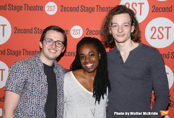 Will Roland, Kristolyn Lloyd and Mike Faist