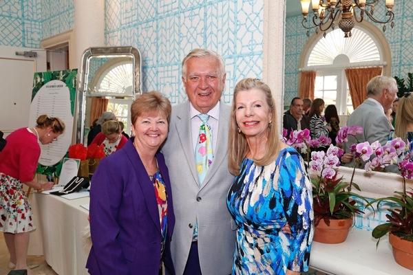 Ann May, Carleton Varney, Princess Yasmin Aga Khan Photo