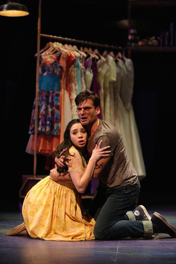 Zoe Nadal plays Maria and Will Skrip is Tony